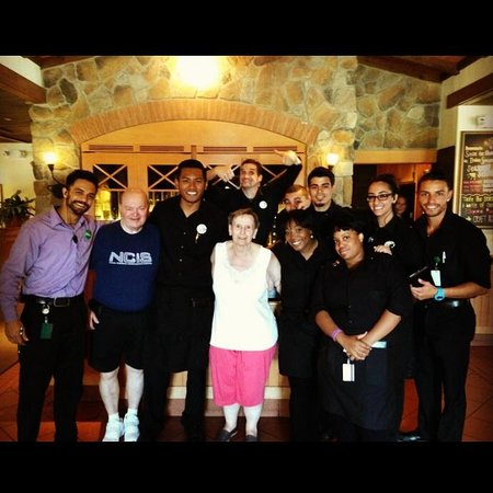Happy anniversary from your family at Woodbridge Olive Garden!