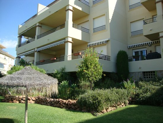 La Cala Hills : View looking up to the apartment