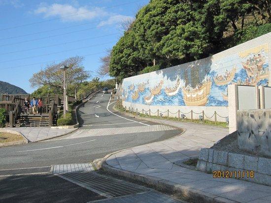 Mekari Park : 源平合戦の壁画