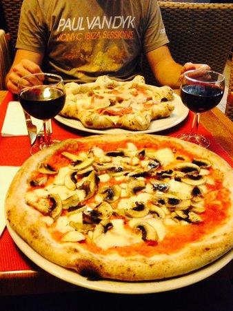Pizza la Vita e Bella et funghi!