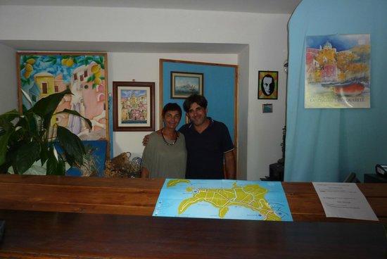 Hotel Residence Tirreno : Reception