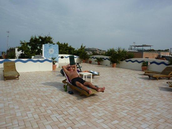 Hotel Residence Tirreno : Solarium