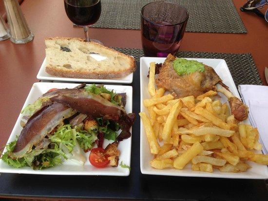 l assiette quot terroir quot picture of la tonnelle beynac et cazenac tripadvisor