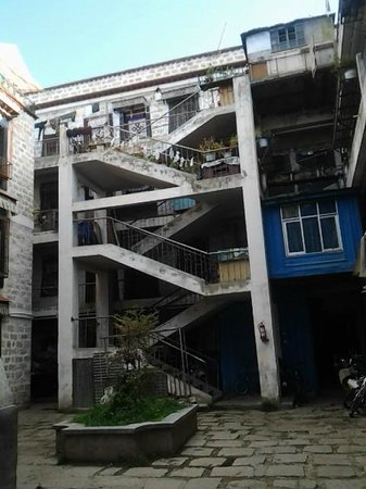 Tibetan Family Kitchen: Entrance