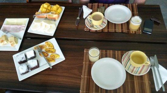 Pousada Bambu Dourado: Desayuno