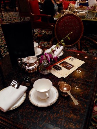 Afternoon Tea at The Brown Palace Hotel: Tea for two