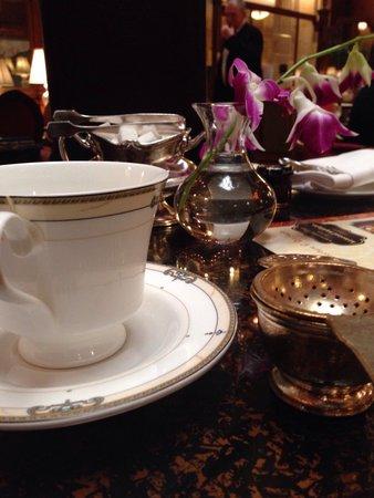 Afternoon Tea at The Brown Palace Hotel: Tea service