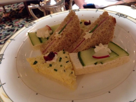 Afternoon Tea at The Brown Palace Hotel: Sandwiches