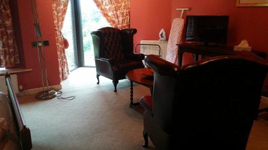Conrah Hotel: room seating area
