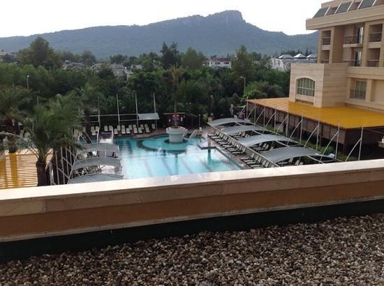 Crystal De Luxe Resort & Spa : uitzicht vanaf kamer