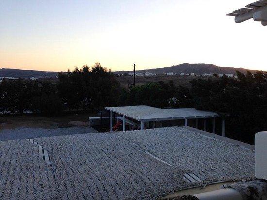 Mykonian Studios: panorama dal balcone