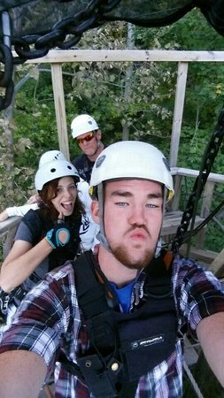 River Riders: These fun guides will help through the canopy tour!