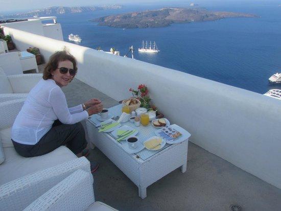 Sunset Hotel : Breakfast