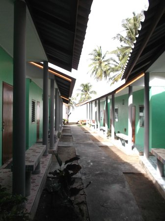 Green Peace Bungalows : Fan rooms