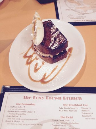 The Foxy Brown : Banana Nutella French toast!