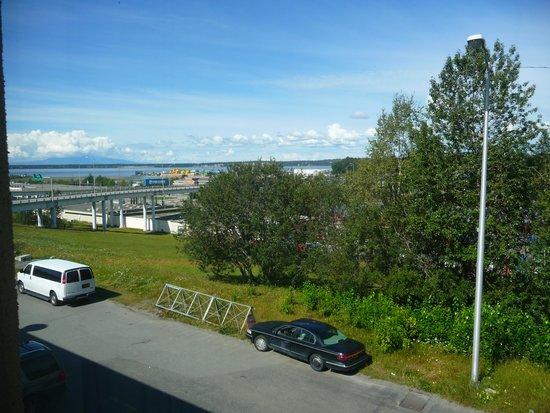 Ramada Anchorage: Vu de la fenetre