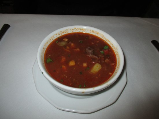 Pod Baranem: soupe goulach
