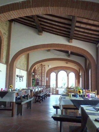 Osteria Castello di Selvole: la taverna