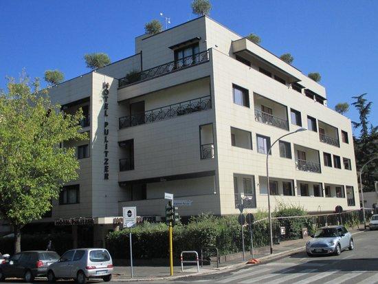 Hotel Pulitzer Roma : Vue de l'hôtel