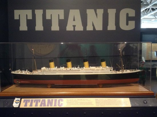 Maritime Museum of the Atlantic : Maquette du Titanic