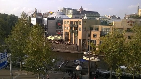 Park Hotel Amsterdam: View from the 4th floor room.