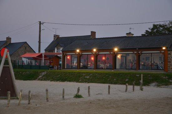 L'Abri des Greves: Vue de la plage de Cherrueix
