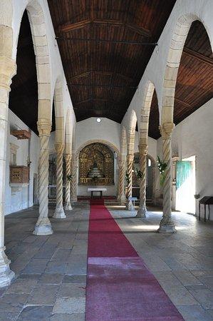 Montemor-o-Velho, Portugal: View inside the church.