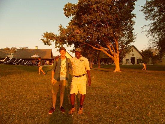 Camp Nkwazi: Wonderful guide Cedrick