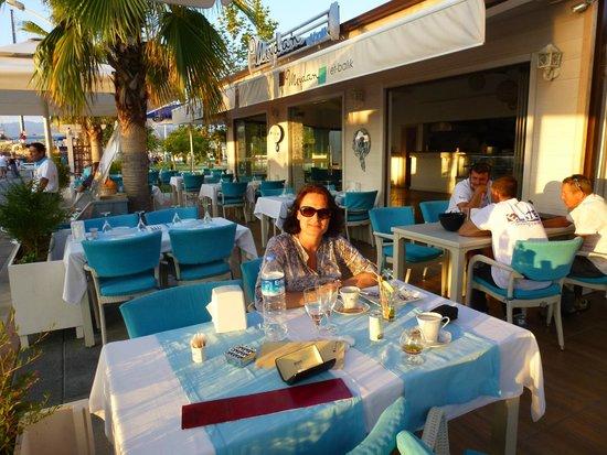 Meydan Meat & Fish Restaurant : Dinner at the Meydan Restaurant, Fethiye