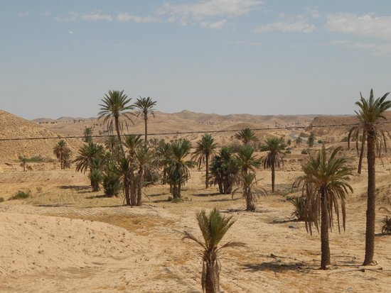 Sahara Desert: Landscape near Matmata