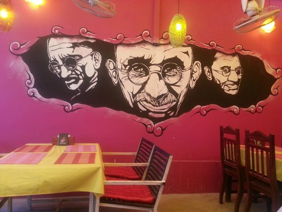 ABABA Curry House : Ababa's cool walls