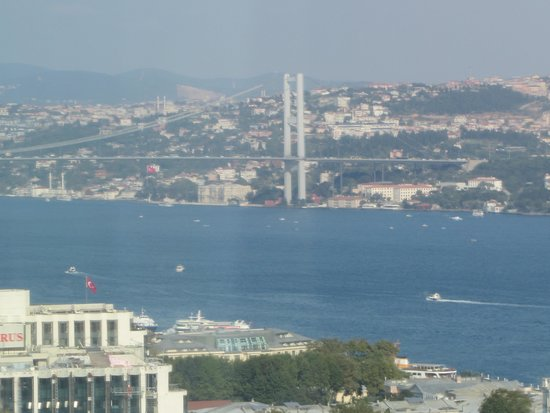 InterContinental Istanbul : Great view
