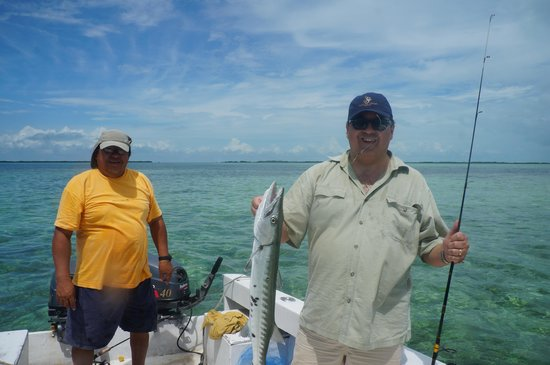 Tara del Sol: Reef fishing
