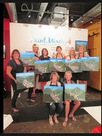 The Paint Mixer: Fun Birthday Celebration with friends