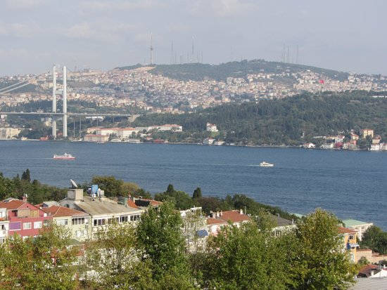 Conrad Istanbul Bosphorus: Great view from the 14th floor