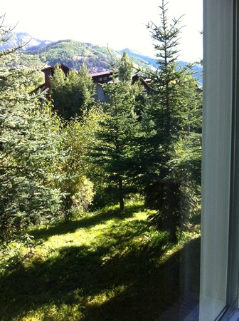 Mountainside Inn: view out our window