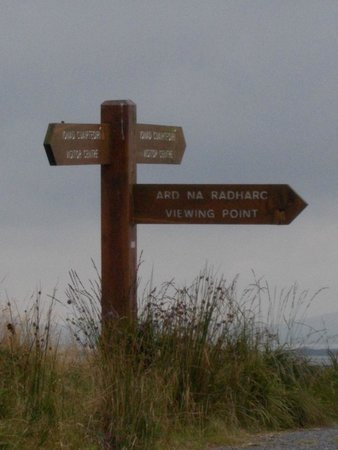 Ballycroy National Park: Loop way or viewing point?