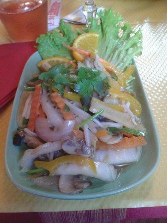 Le Tonkinois : Légumes sautés
