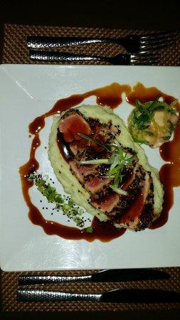 Hotel Caribe: Trés bonne cuisine, le tartare de thon, un régal!
