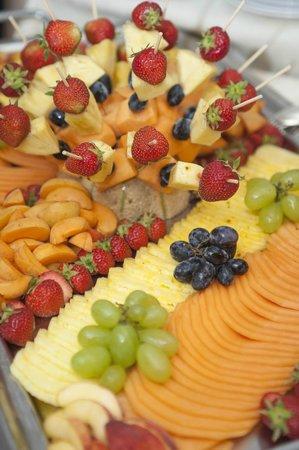 Hotel Hermitage Ristorante: frutta a go go
