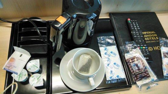 Bedford Hotel : Servicio de Té y Café en la habitación diario