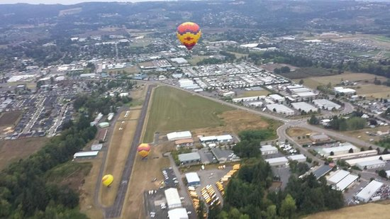 Vista Balloon Adventures : Up up & away