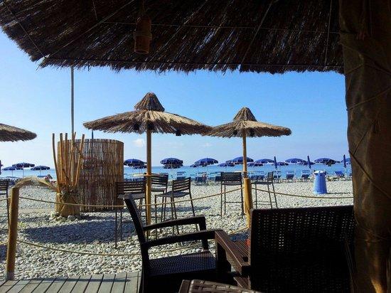Ristorante Miramare : Vista spiaggia