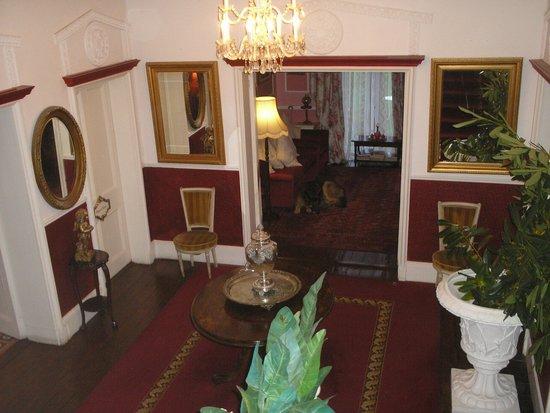 Entry hall at Maranatha Country House