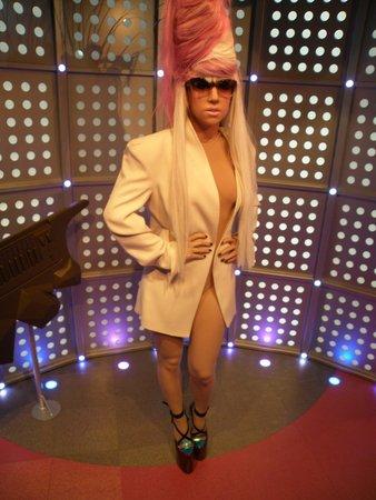 Madame Tussauds Amsterdam: Lady Gaga