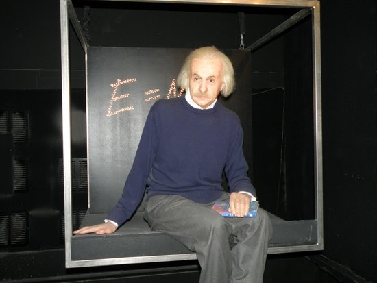 Madame Tussauds Amsterdam: Albert Einstein