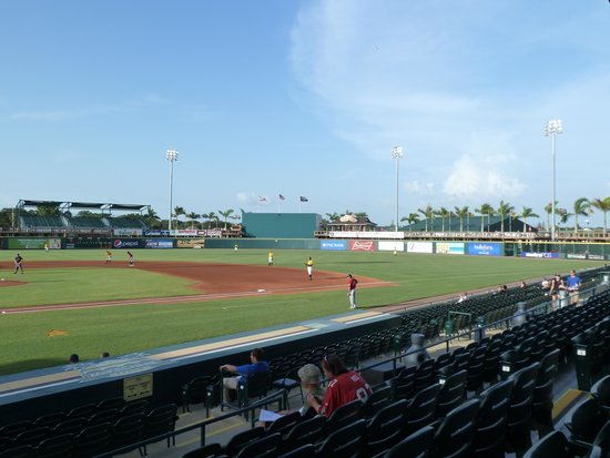 McKechnie Field: 1st base and right field