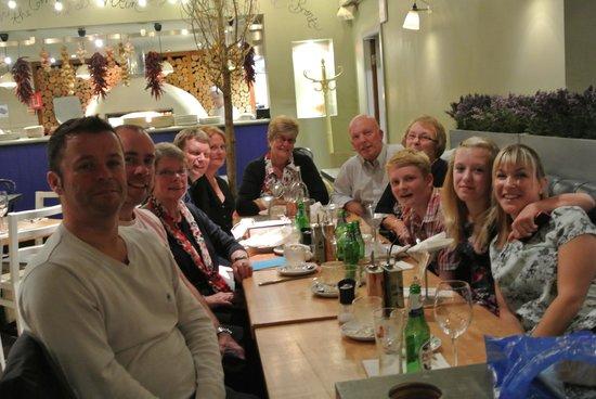 Zizzi - Hitchin: Happy Birthday Party