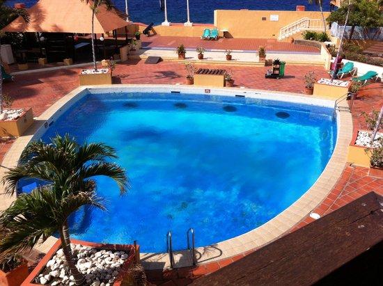 Plaza Hotel Curacao: Piscina deteriorada