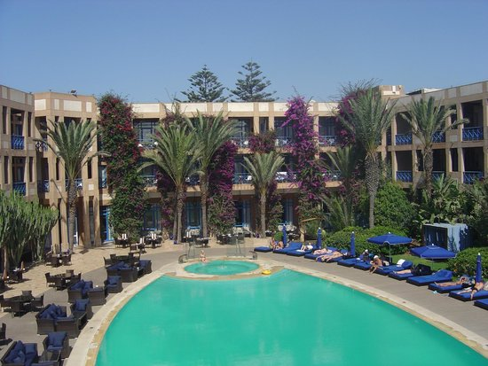 Le Medina Essaouira Hotel Thalassa Sea & Spa - MGallery Collection: vue du solarium